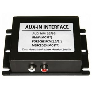 AUX-110 interfata audio aux in fibra optica Bmw, Audi, Mercedes, Porsche