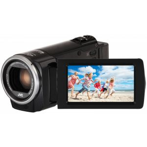Camera Video Full HD JVC GZ-E105BEU, HDMI, Neagra