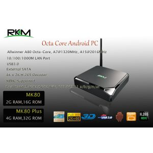 Mini PC cu Android PNI MK80 de la Rikomagic