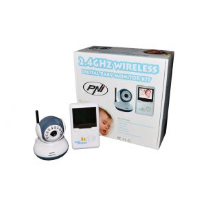 Video Baby Monitor Wireless PNI B2500, Diplay 2,5''