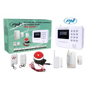 Sistem Antiefractie Wireless PNI PG200, Comunicator GSM