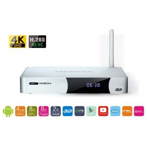 Mini PC cu Android HiMedia Q5 IV Quad core 4K