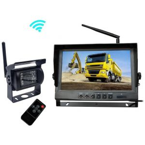 "Kit Marsarier Wireless cu Camera si Display de 9"" 12V~24V"