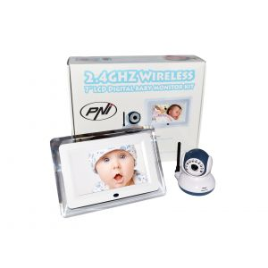 Video Baby Monitor Wireless  PNI B7000, Diplay 7''