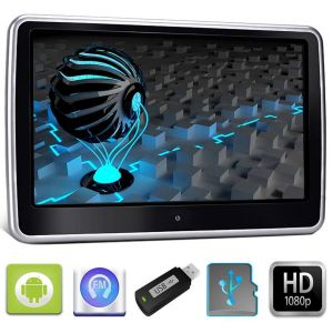 "Travelmate 10 Tetiera cu Android 10"" USB SD 1080p internet Touchscreen"