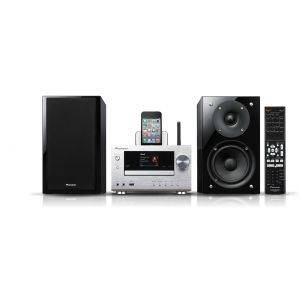 Micro System Wireless iPod, iPhone Dock, WiFi Pioneer X-HM81-S Argintiu