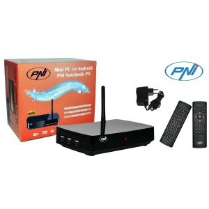 Mini PC PNI Notebook P5, Android 4.1 + mouse si tastatura qwerty PNI Airfun ONE