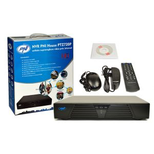 NVR cu 4 Canale PNI House PTZ720P